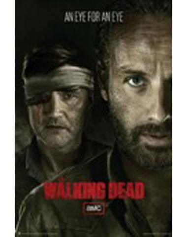 The Walking Dead 'Eye for an Eye' Poster