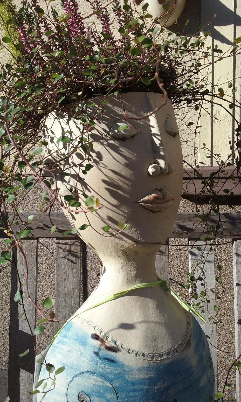 Keramik, Figur, Keramikskulptur, Gartenkeramik, Skulptur | Keramik ...
