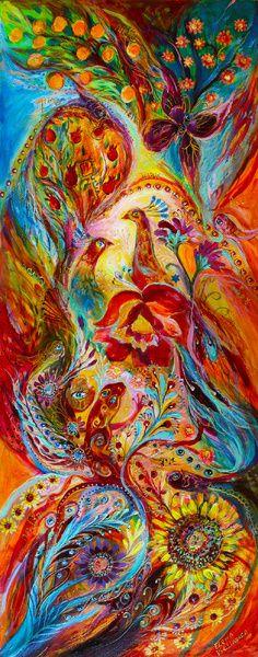 """Flowers and Fruits"" by Elena Kotliarker"