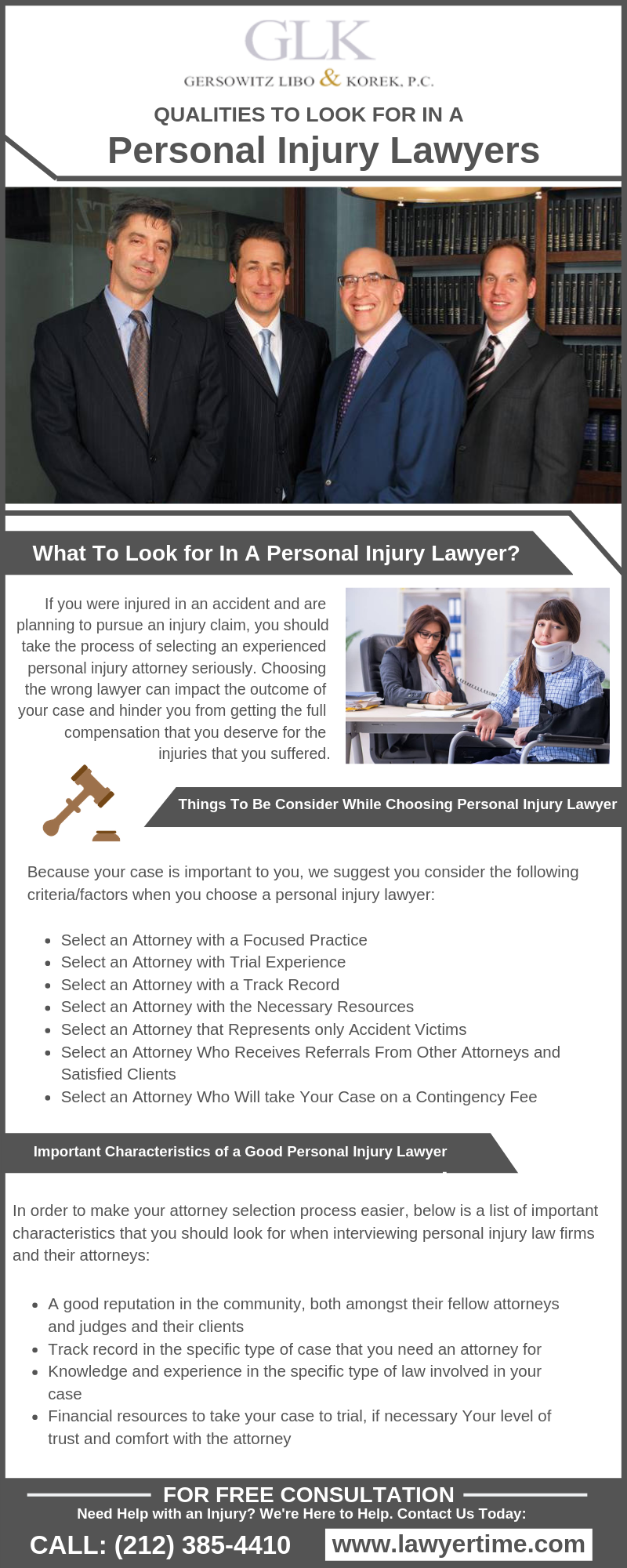 Things To Consider When Choosing A Personal Injury Lawyer A Law