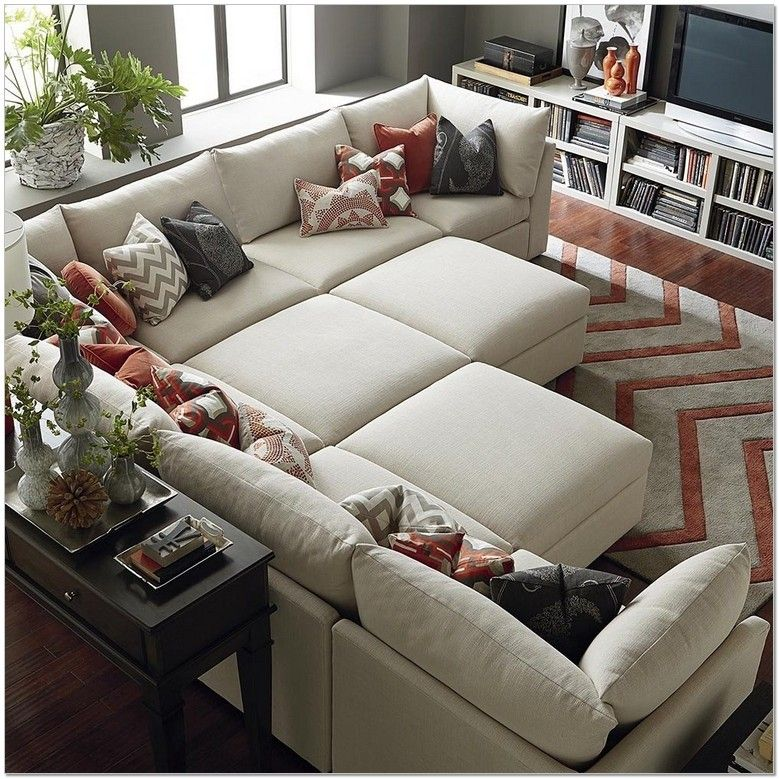 Beautiful Sectional Sofa Pit Group Sofa Furniture Home Living Room Furniture