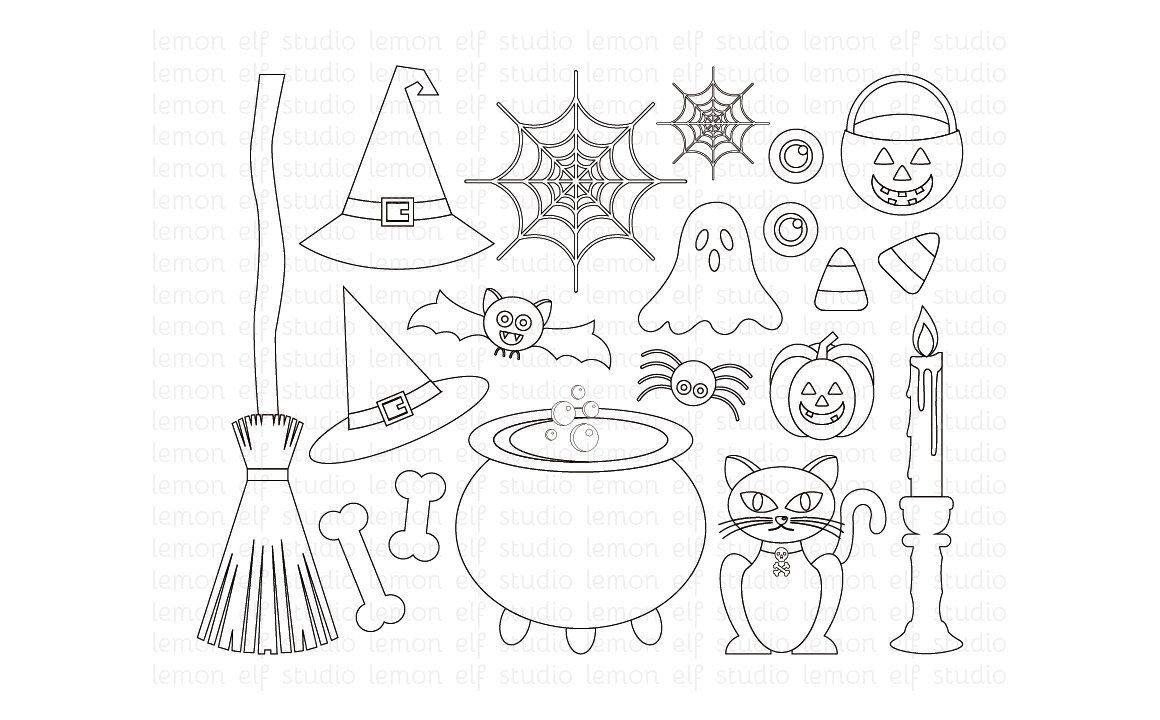 Happy Halloween Stamp (LES.DS47) Happy halloween, Stamp