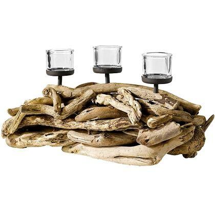 Was kann schöner sein, als natürliche #Deko? Dieser #Holzleuchter sorgt für eine extra Portion #Gemütlichkeit ♥ ab 32,99 €