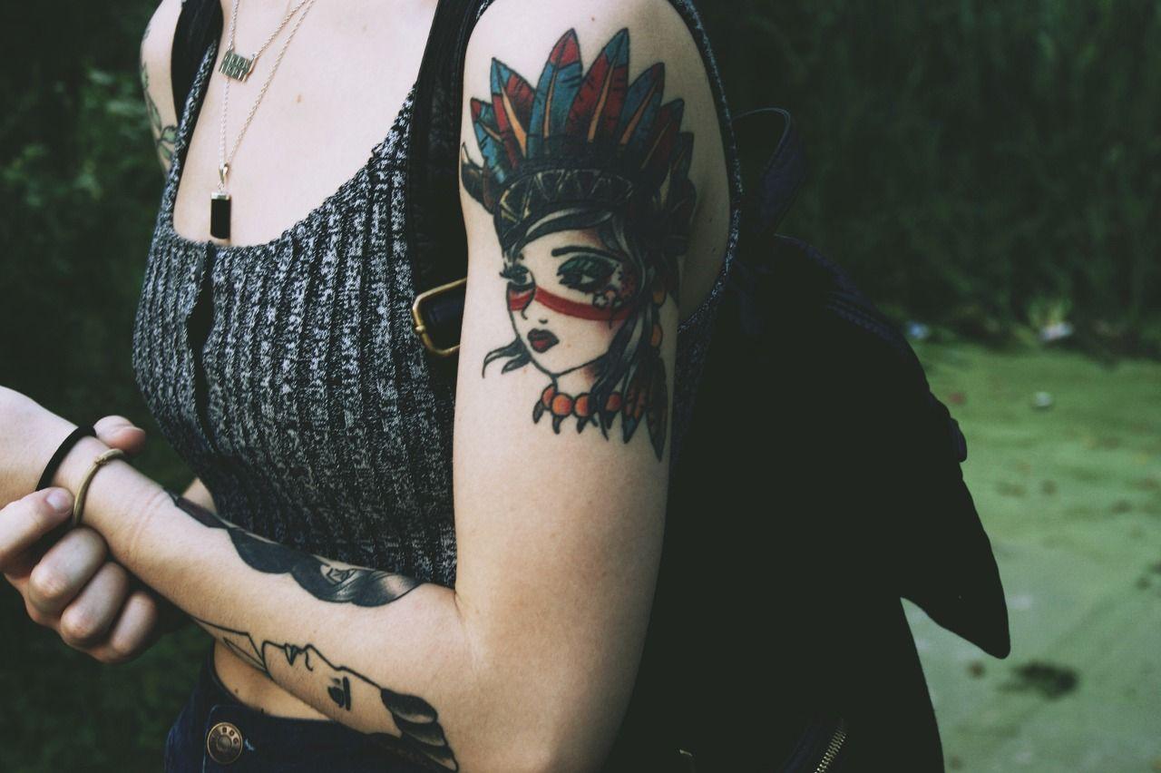 Pin by Ciara Fink on Tattoos Girl tattoos, Tattoos, Band