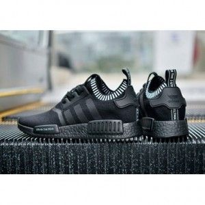 Adidas Nmd Runner Japan Triple Black Boost For Women With Images Adidas Nmd Black Adidas Nmd Runner Sneakers Men
