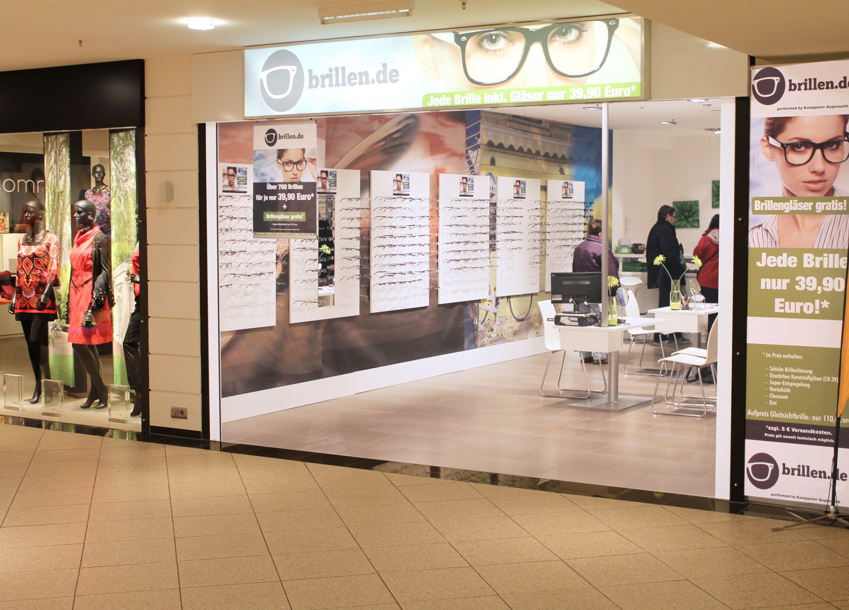 Unsere brillen.de-Filiale in Hallstadt freut sich auf dein Besuch ...