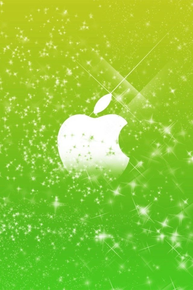 Lime green apple