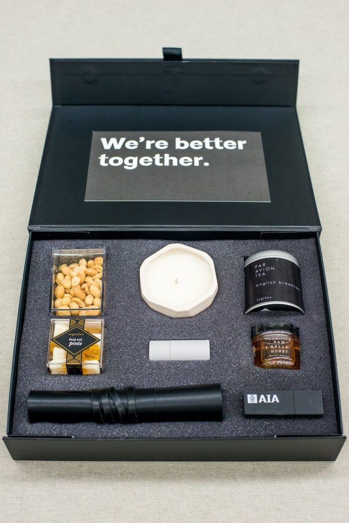 Best Corporate Gifts Ideas CUSTOM THANK YOU GIFT BOX by
