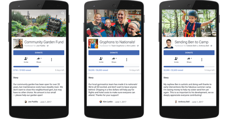 Facebook's personal fundraisers exit beta, now support