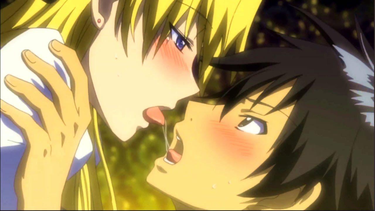 Top 10 Anime Kiss Scene 2 Romance Meme