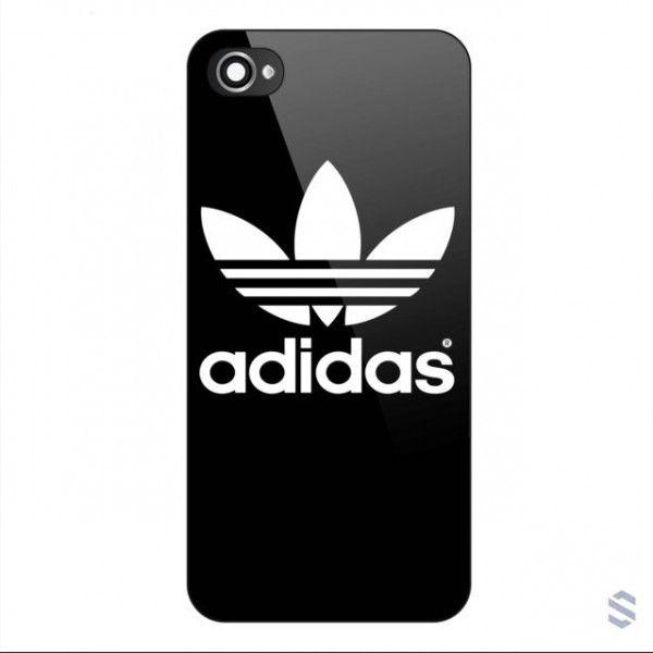 New Custom White Adidas Logo iPhone Cases Case