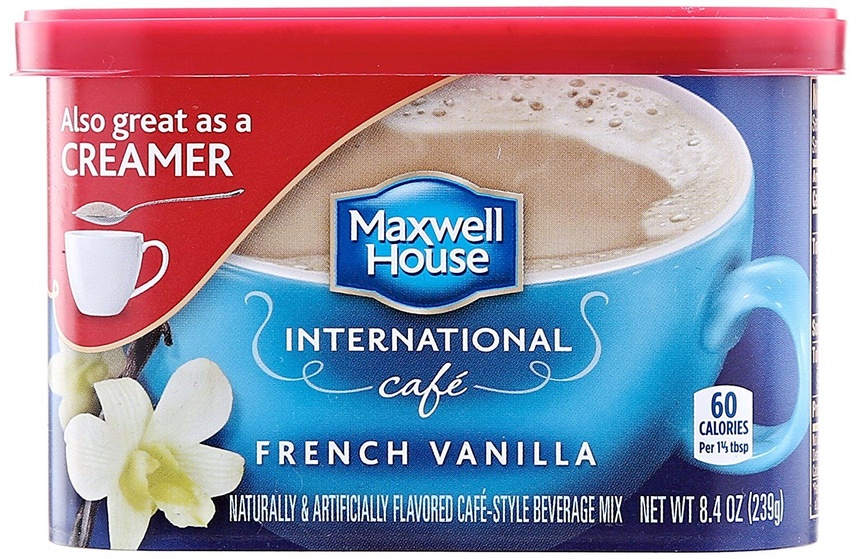 Maxwell house international french vanilla 84 ounces