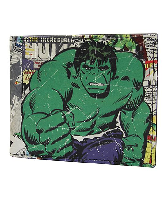 Vintage Incredible Hulk Bi-Fold Wallet