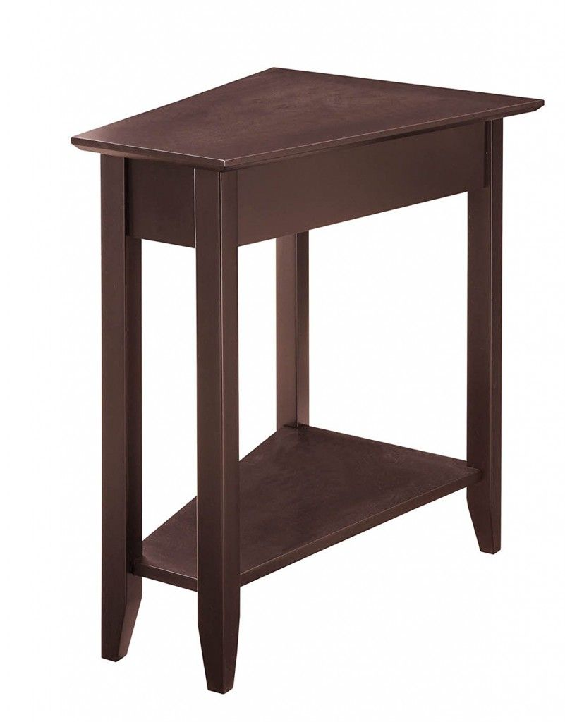 Triangle End Table Wedge End Table Triangle End Table Espresso End Table