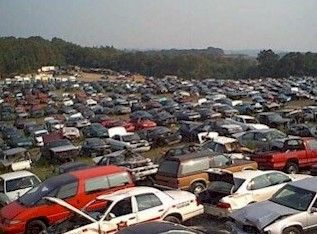 Huge Auto Salvage Yard In Western Pennsylvania Favorite Places Facility Cars Trucks
