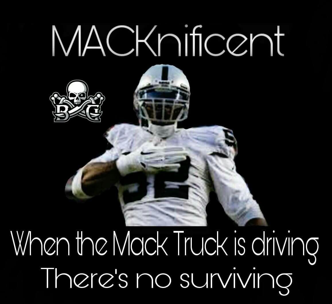 Khalil Mack Raiders