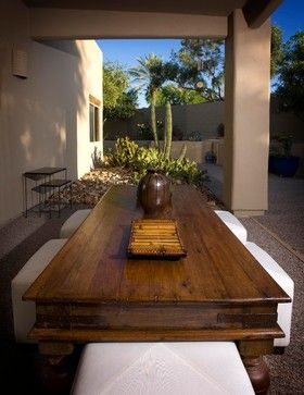 Outdoor Space Love The Table Asian Home Design Home Design