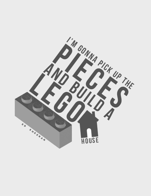 Lego House- Ed Sheeran   My love song, Love songs lyrics ...