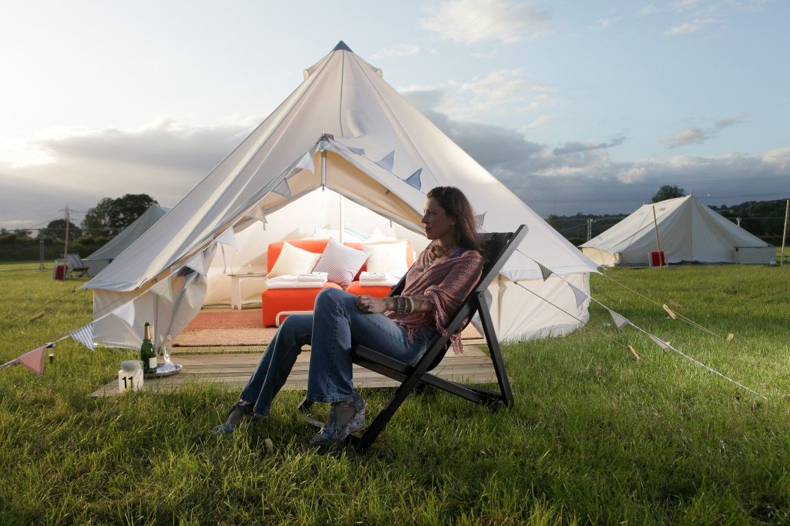 Camp in Luxury Style | Outdoor Living Inspiration | Luxury