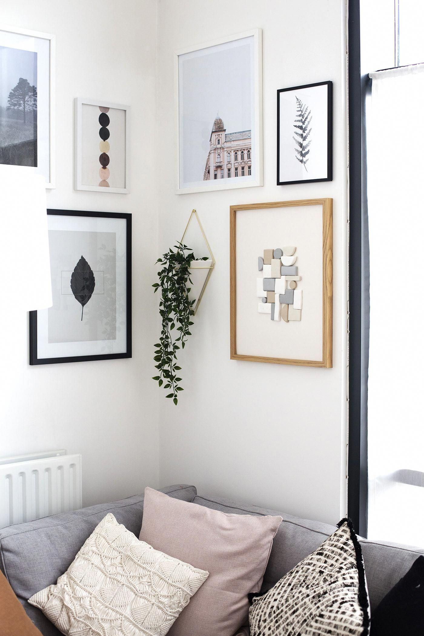 How To Style A Gallery Wall The Lovely Drawer Gallery Wall Bedroom Wall Decor Bedroom Gallery Wall Inspiration