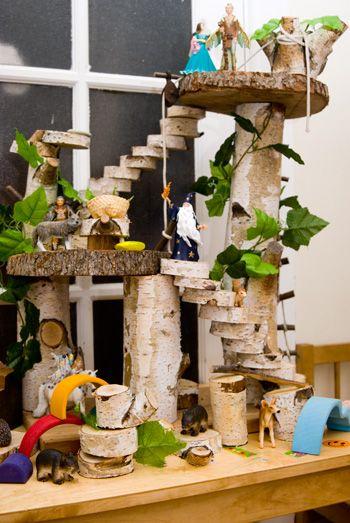 Tree House Doll's House.