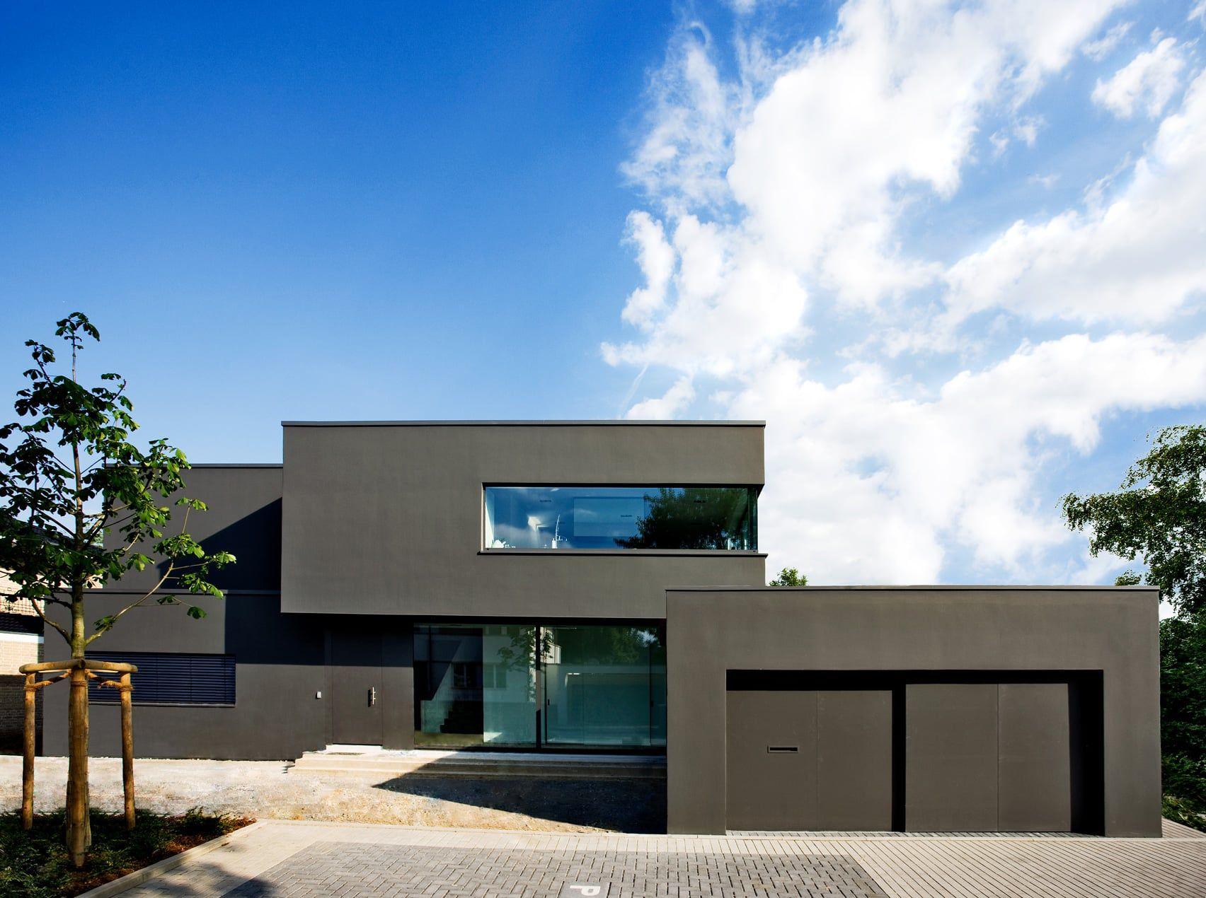 Bauk Rper Und Fassade (House Architecture Modern)