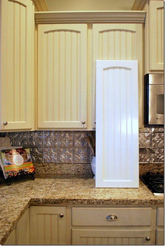 Love this cream color for cabinets....