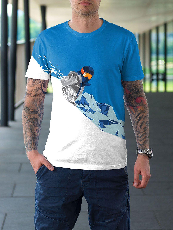 Winter Sport Poster T Shirt Set