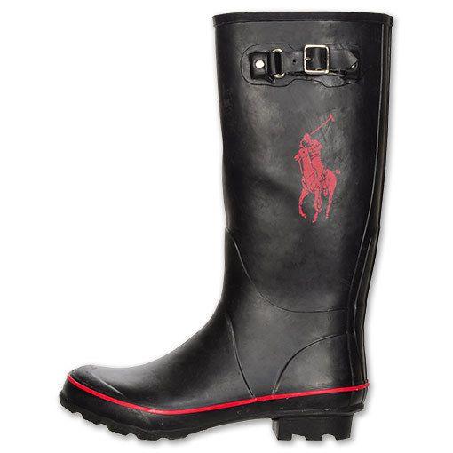 men's rain boots   NEW Mens Polo Ralph
