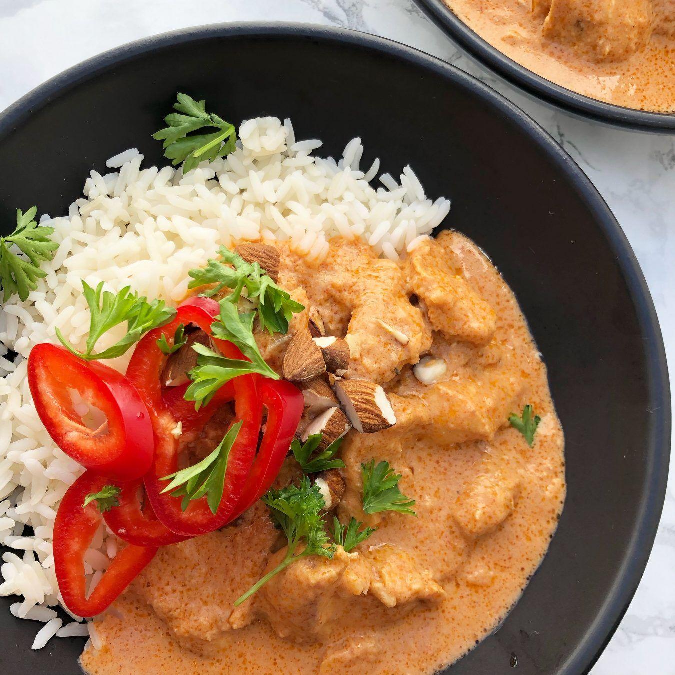 Chicken Tikka Masala En Smagfuld Indisk Ret Mummum Dk Opskrift Indiske Opskrifter Opskrifter Indisk Mad