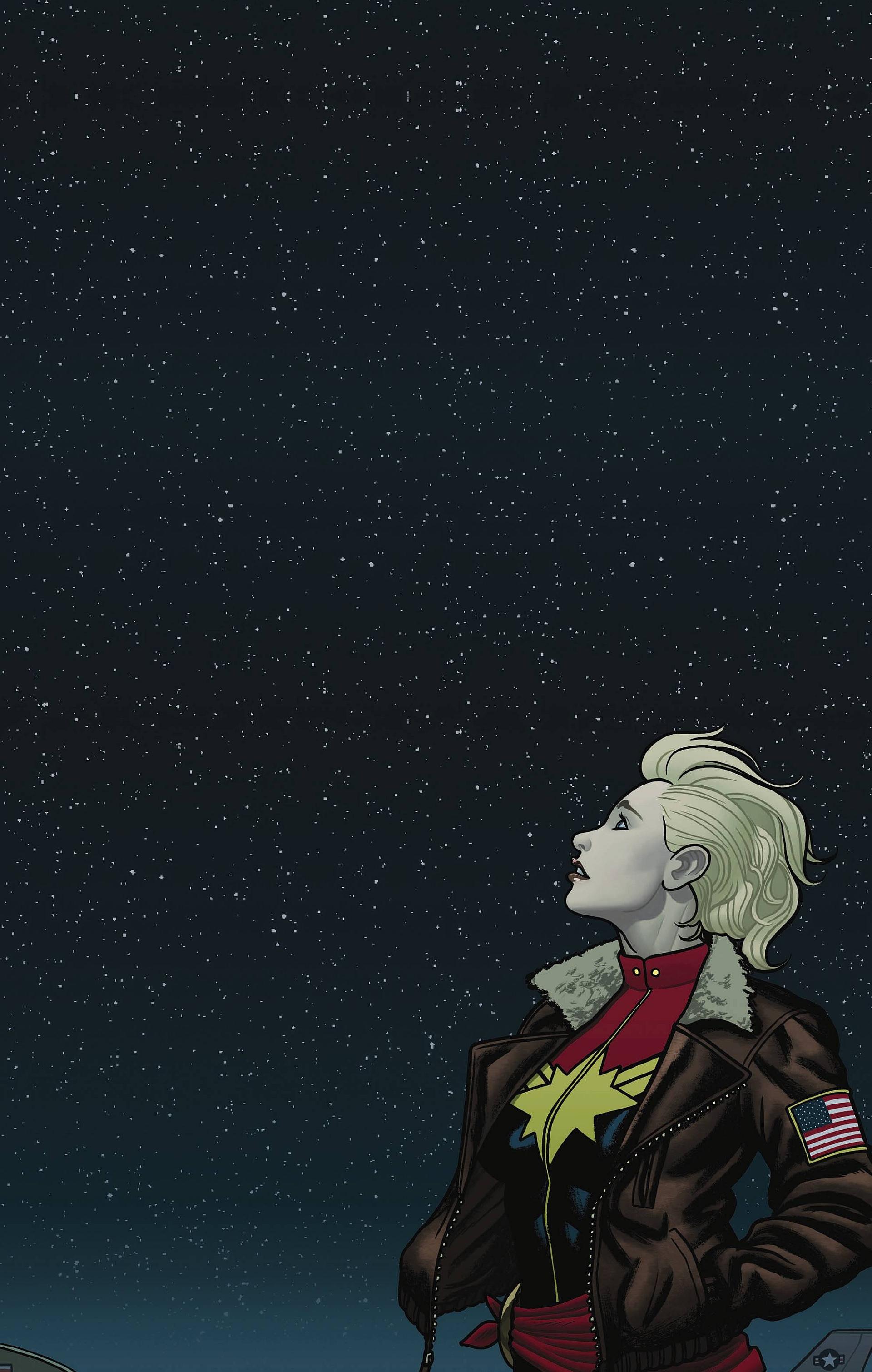 Captain Marvel Hype Wallpaper Marvel Heroi Parede
