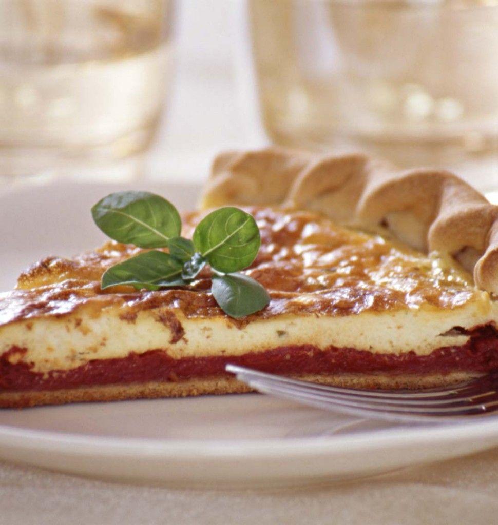 Tarte au boursin - les meilleures recettes de cuisine d'Ôdélices