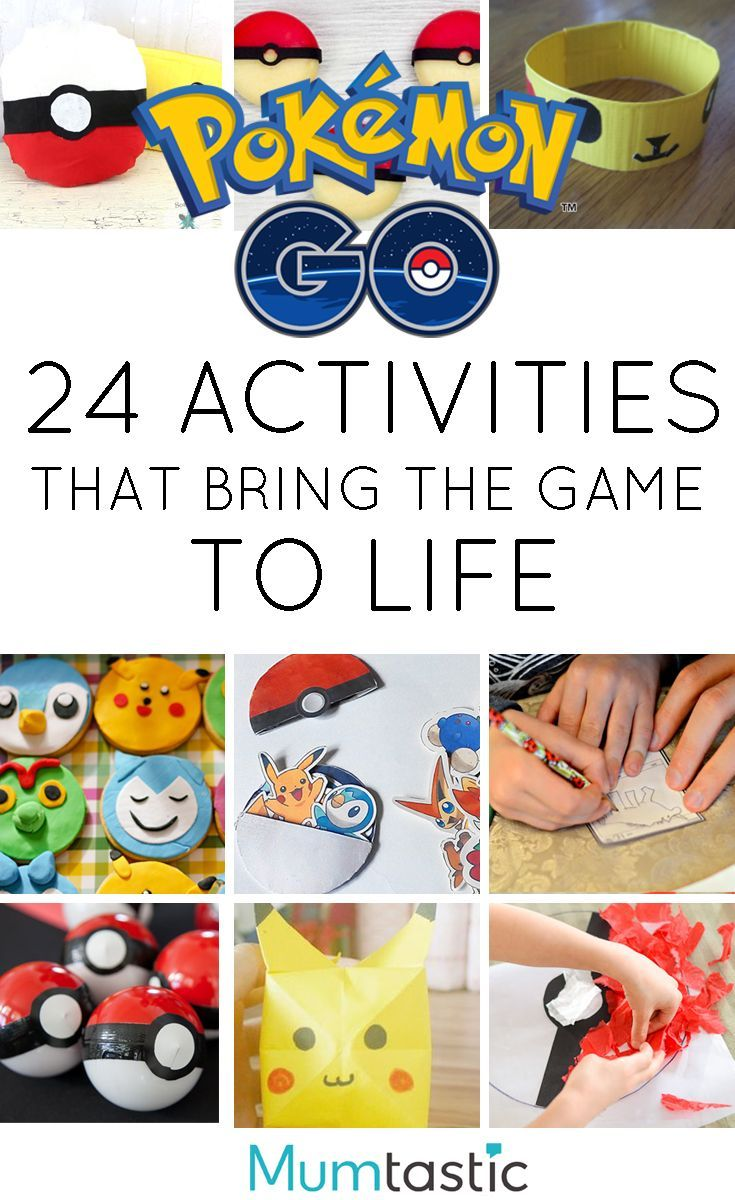 24 Pokemon GO Activities that Bring the Game To Life!   Parenting ...
