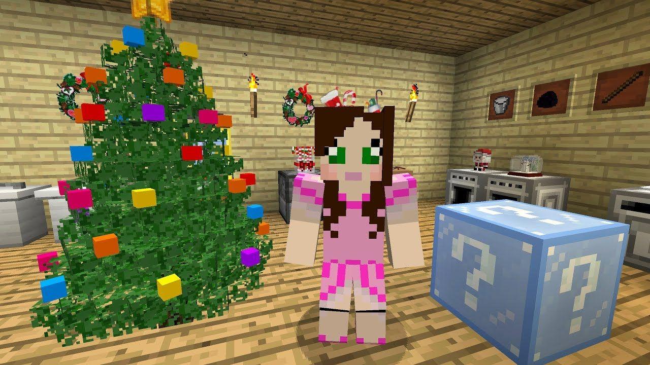 minecraft christmas lucky block challenge eps9 36 - Christmas Minecraft Videos