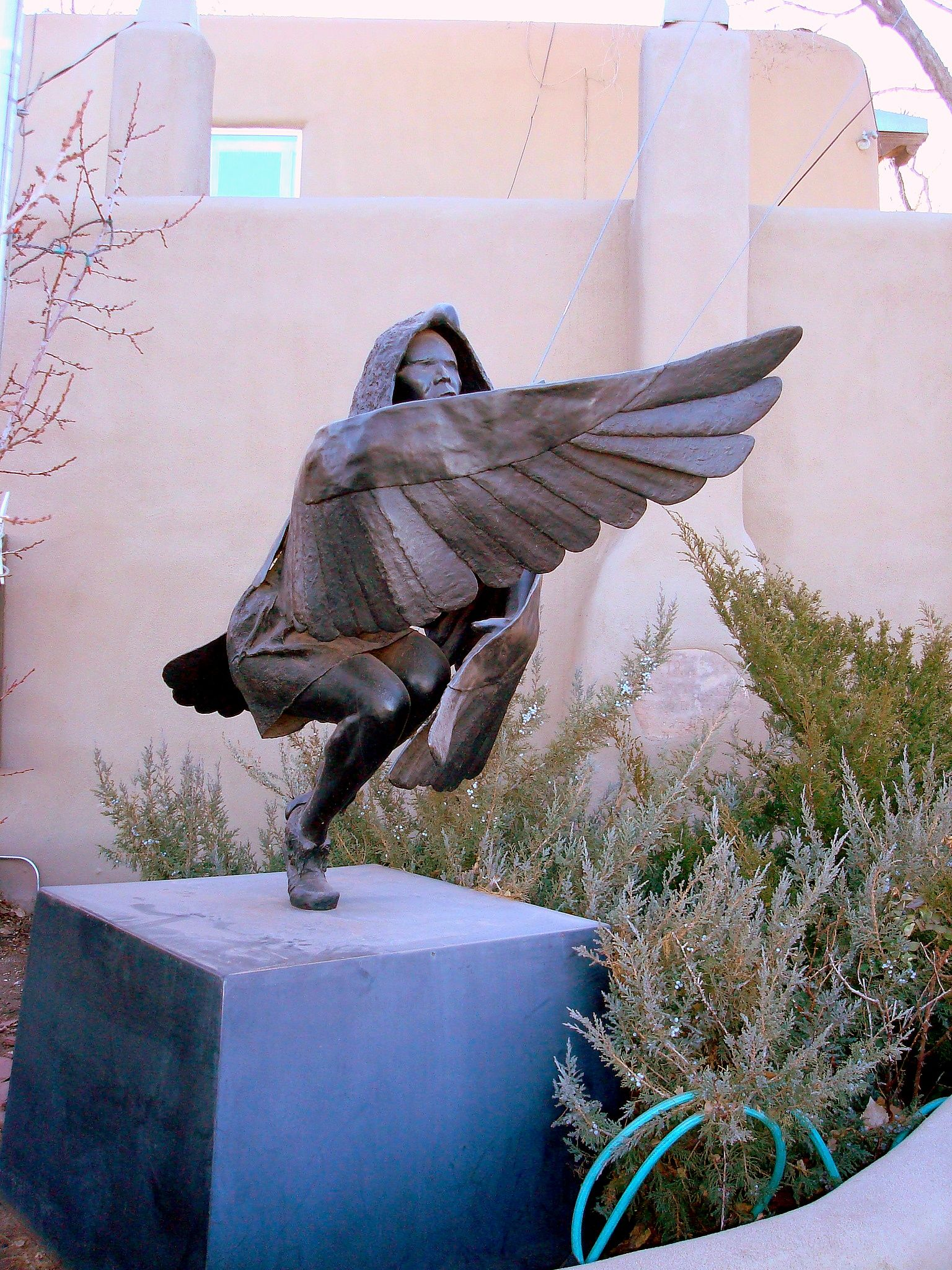 Bronze Sculpture Canyon Road Santa Fe Nm Outdoor