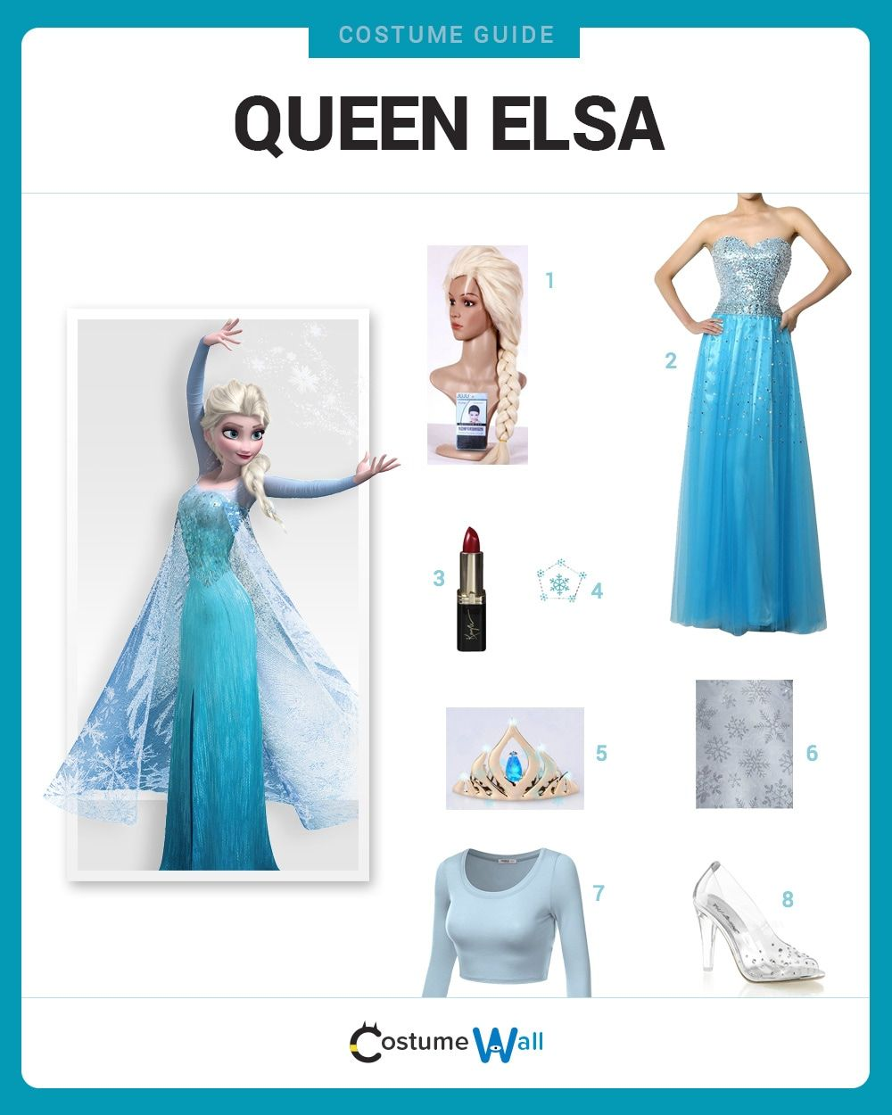 Dress Like Queen Elsa in 2020 Elsa halloween costume