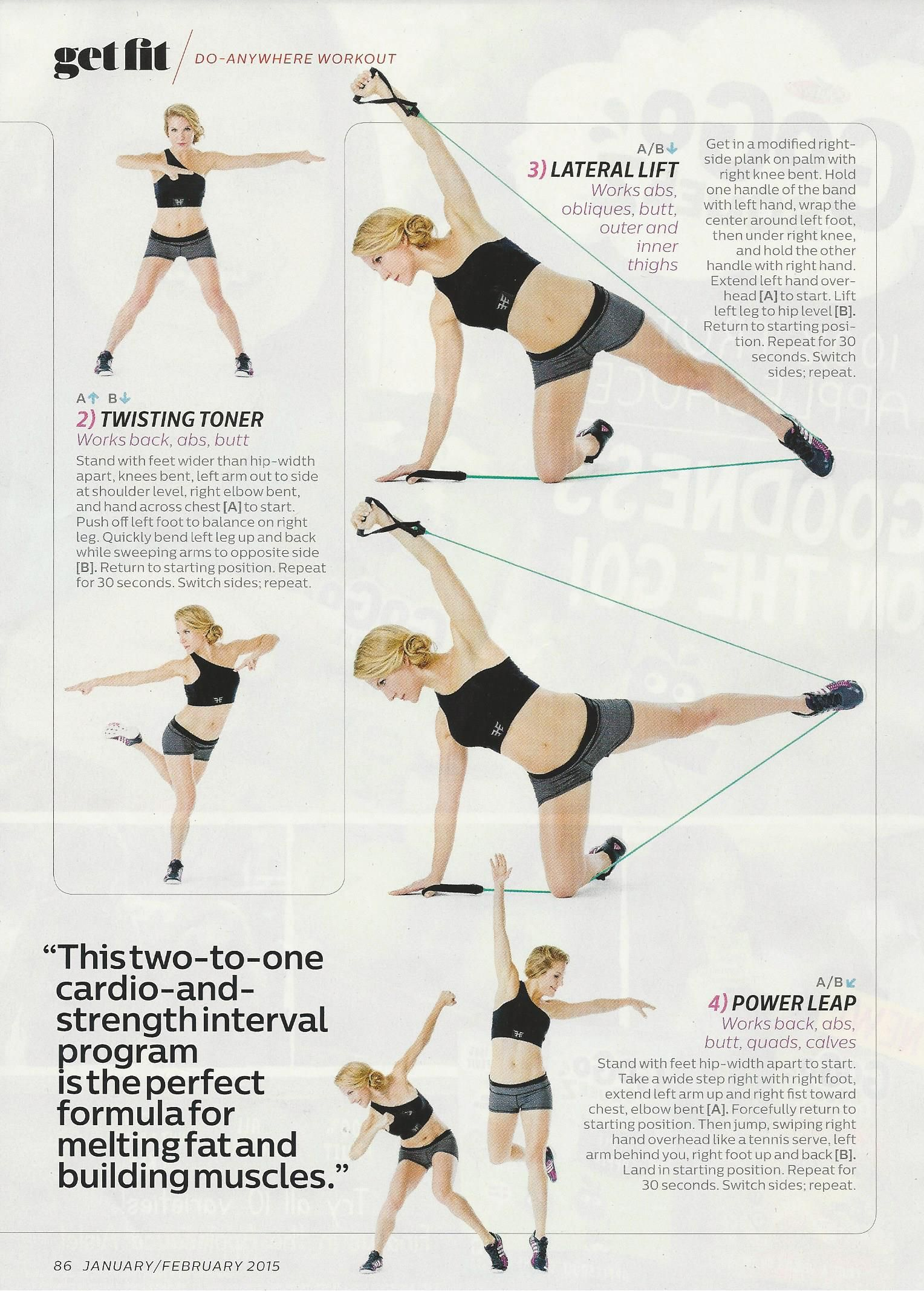 Do anywhere workout from Anna Kaiser of AKT in Motion in