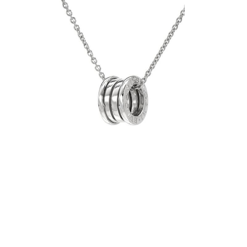 Bvlgari bzero1 18kt white gold necklace jewellery scrapbook bvlgari bzero1 18kt white gold necklace aloadofball Images
