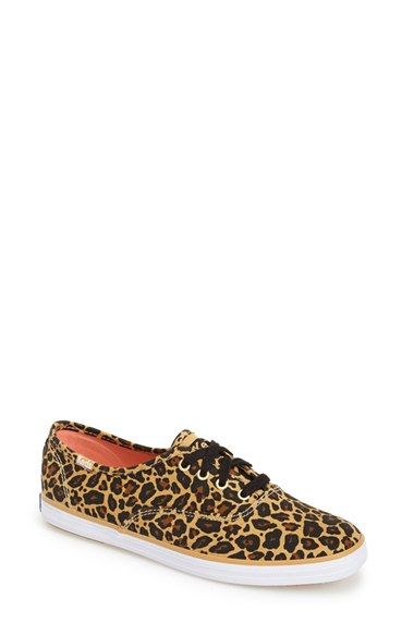 3290aad7f21 Free shipping and returns on Keds®  Champion  Leopard Print Sneaker (Women)  at Nordstrom.com. Lightweight cotton construction in an exotic leopard  print ...