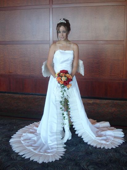 final fantasy x yuna in her wedding dress I want this