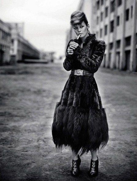 Vanessa Paradis for Interview Magazine Russia