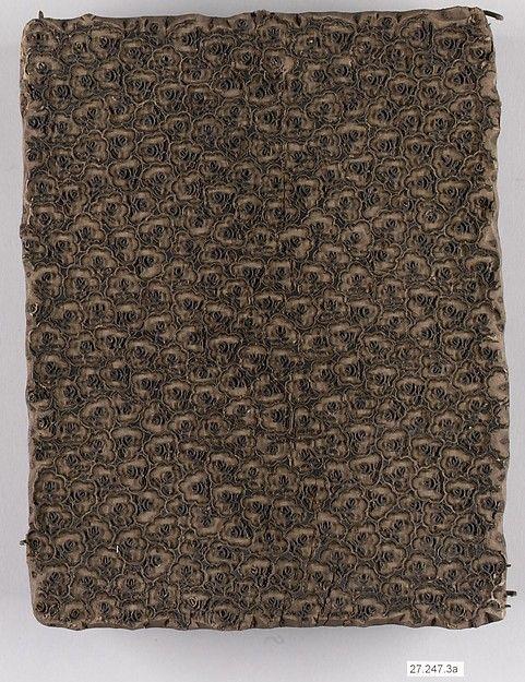 Woodblock - Swaislands Fabric - British - late 18th century