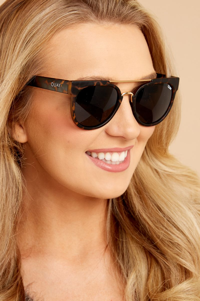 db5a9b02debf3 Quay Australia Odin Tortoise Brown Sunglasses