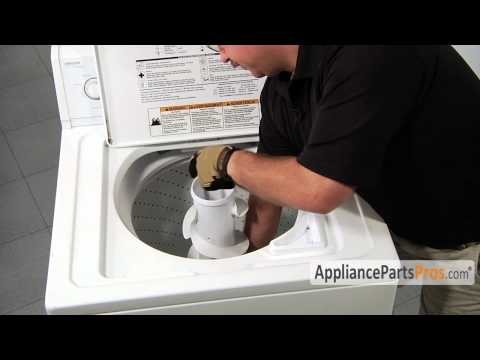 Washer Filter Plug Kit Part 285868 How To Replace Youtube Washing Machine Repair Repair Washer
