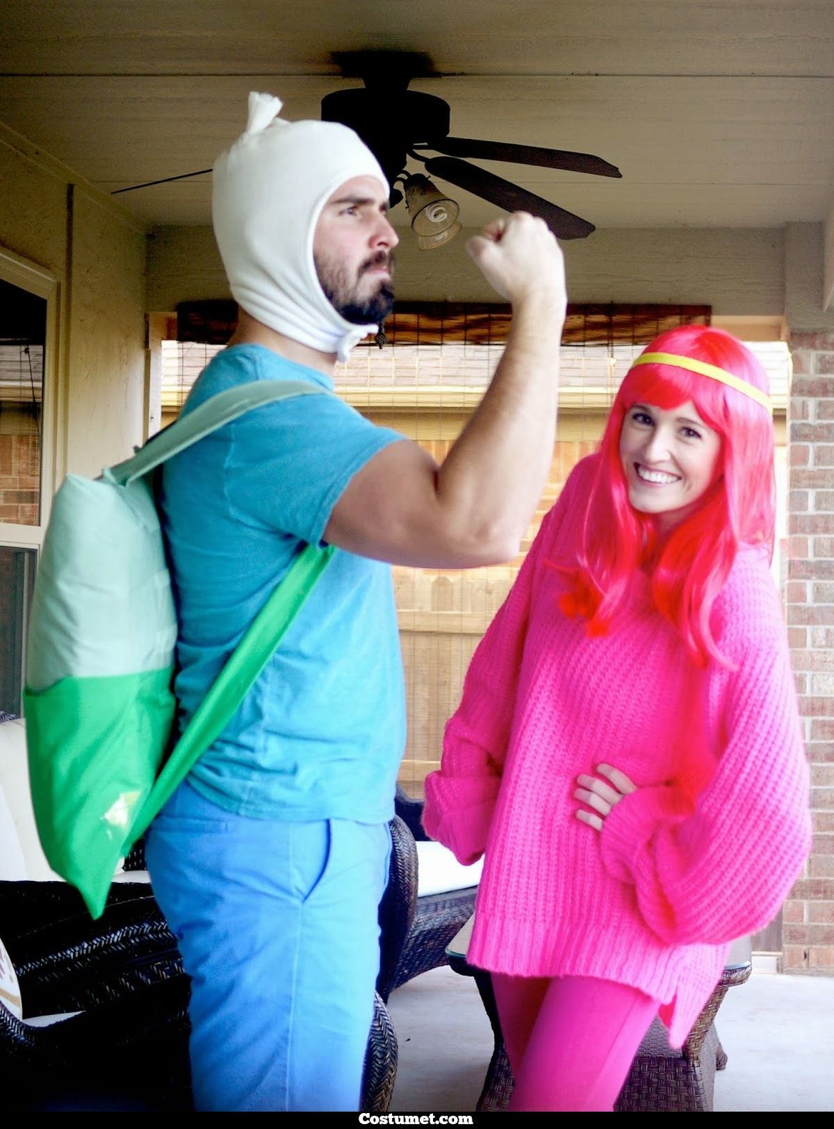 it's time to find your two-ears hat and become finn the human from