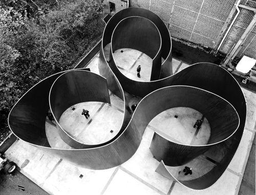 cycle, 2010 • richard serra • gagosian gallery • via design milk