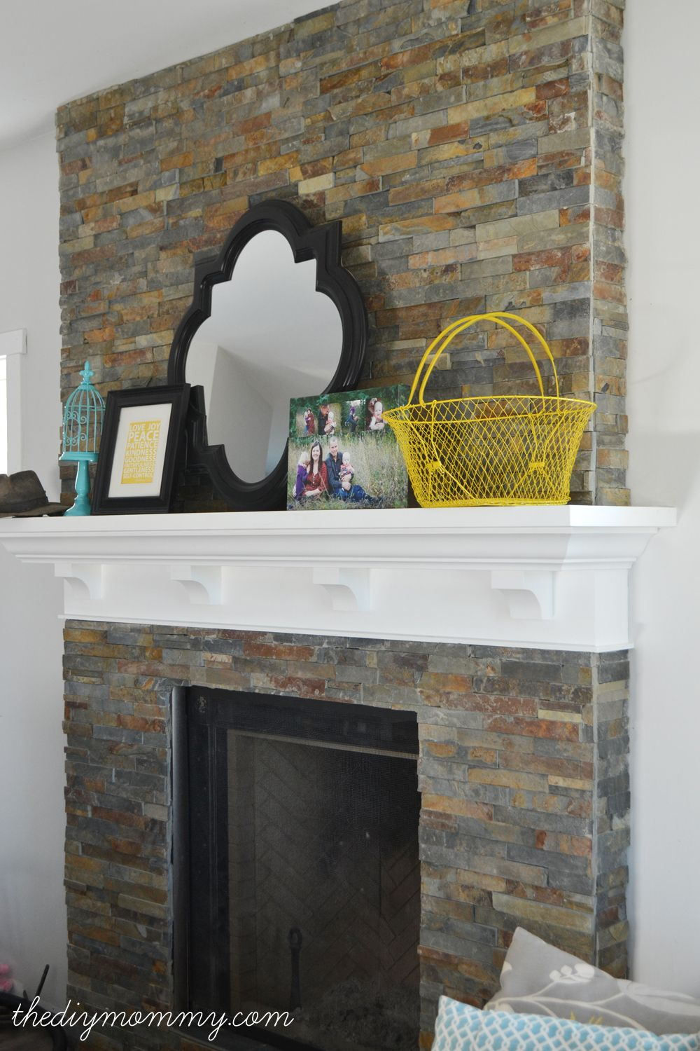 How To Install Stacked Stone On Interior Wall Ideas Exterior Faux