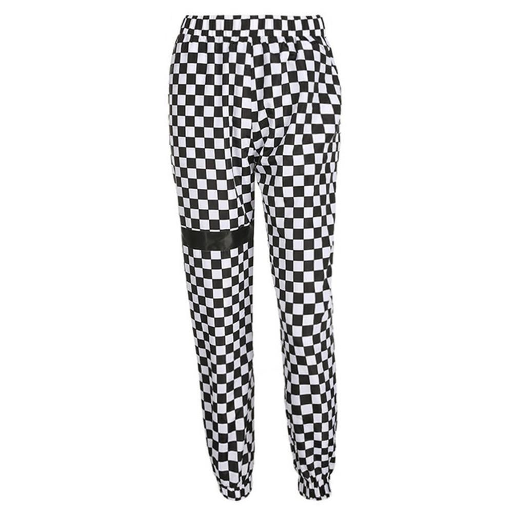 Checkered Joggers Pants For Women Fashion Pants Checkered Trousers