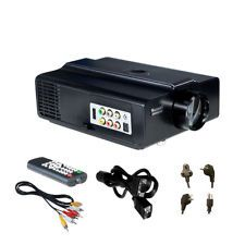 Led Projector 1080p Hdmi Home Theater Hd Tv Vvme V06b Office Led