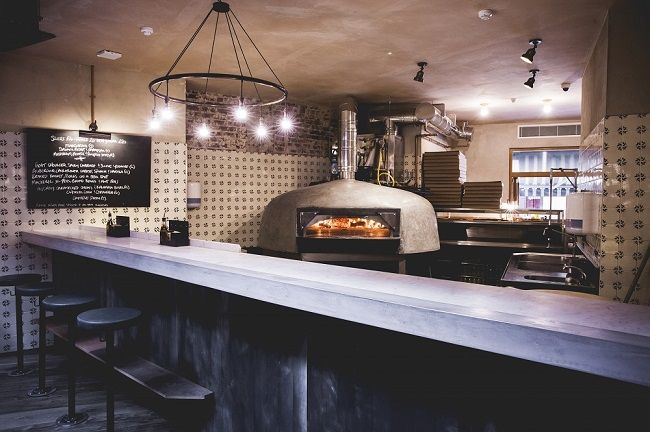 homeslice pizza wood fire oven take away pinterest four a pizza pizza et caf. Black Bedroom Furniture Sets. Home Design Ideas